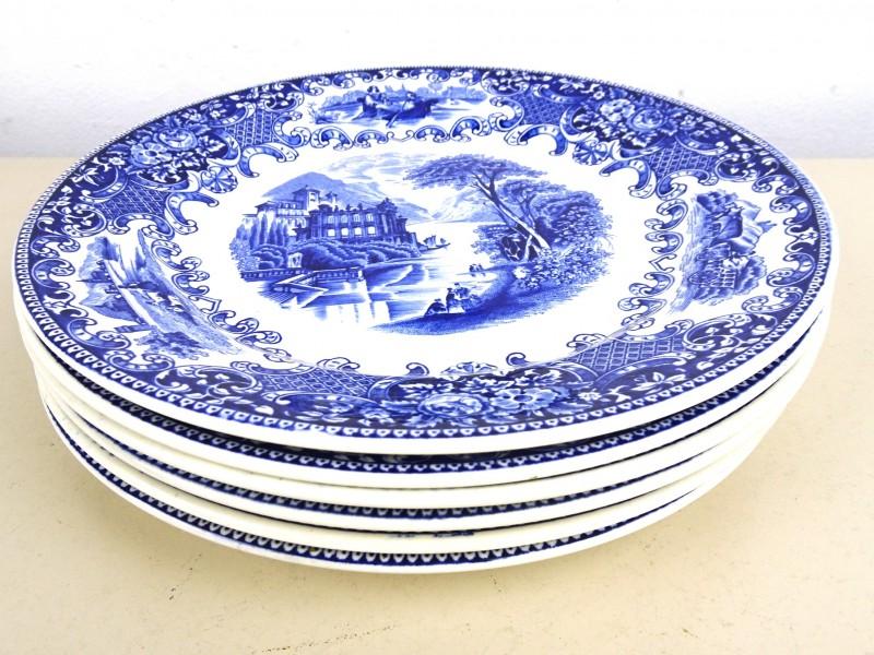 Vintage aardewerk borden