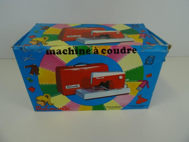 Vintage Naaimachine Macousette  '50 / '60