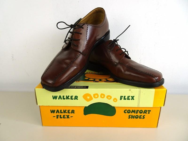 Bruin lederen herenschoenen (City-Shoes)