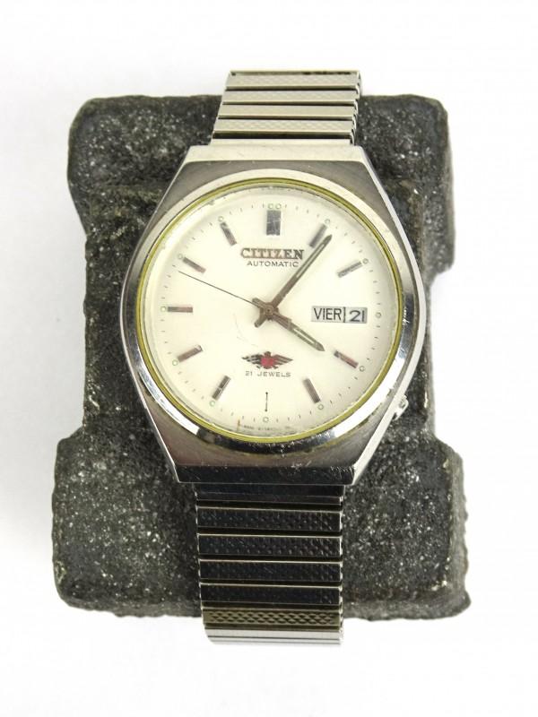 Vintage herenhorloge (CITIZEN 12 Jewels)
