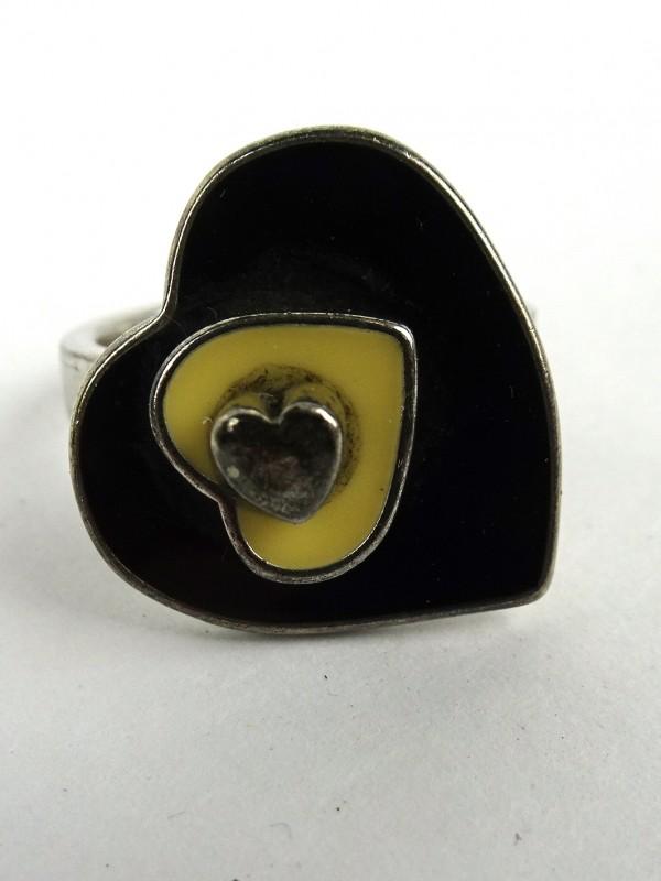 Zilveren ring (UNITED COLORS OF BENETTON)