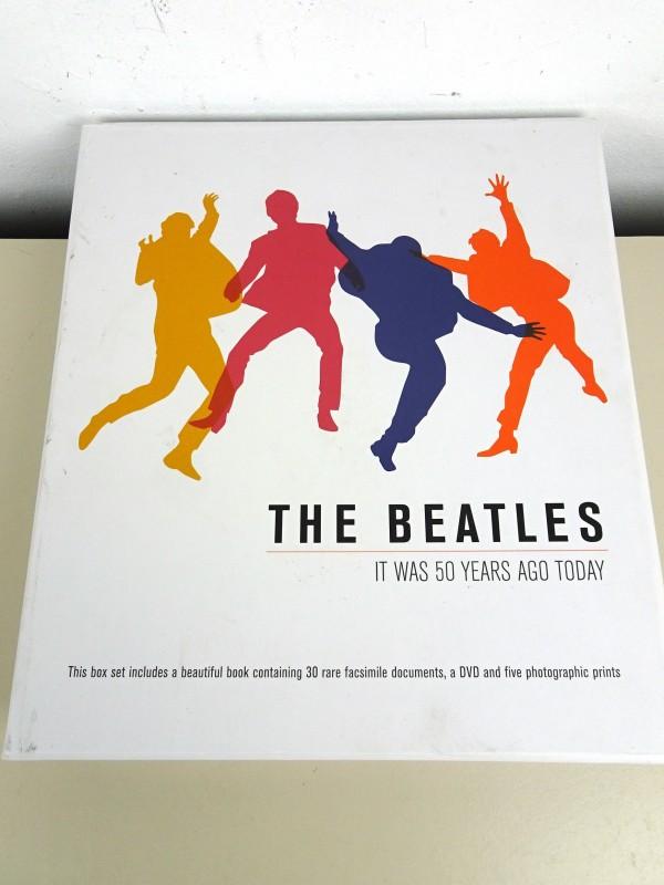 """50ste verjaardag-box van """"The Beatles"""""""