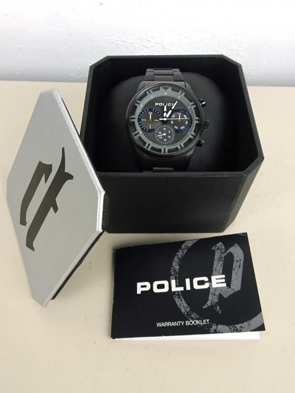 Zwarte herenhorloge (POLICE)