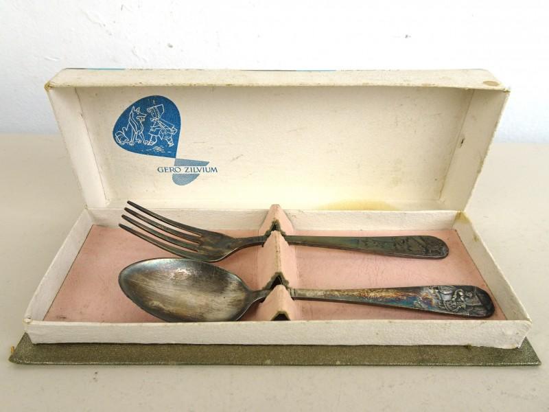 Verzilver vork & lepel (GERO ZILVIUM 90)