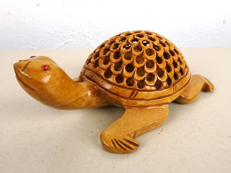 Houten schildpad