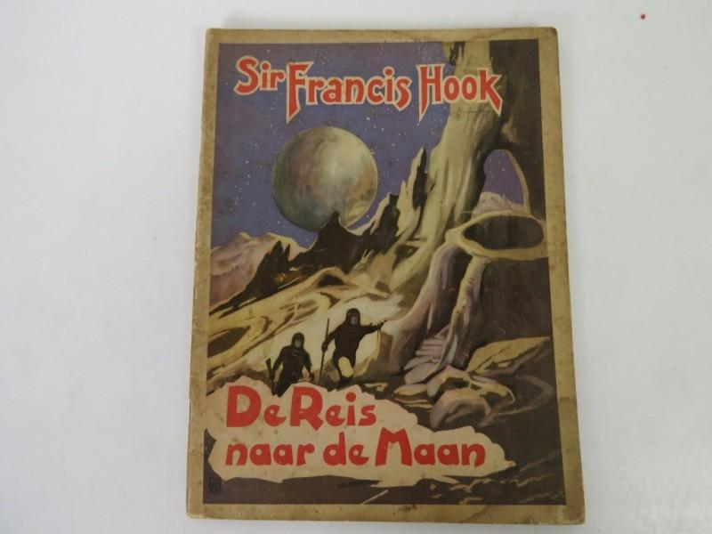 Boek - Sir Francis Drake - De reis naar de maan
