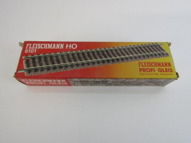 Modeltreinen, Fleischmann HO, set 10 rechte sporen
