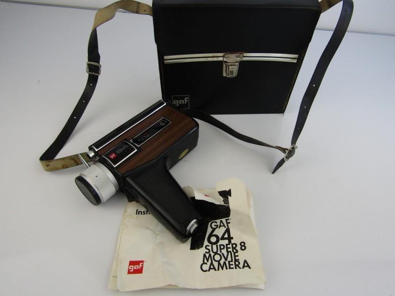 Super 8 Filmcamera: GAF® 64, 1970