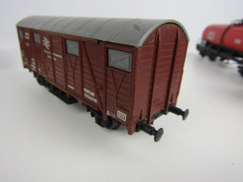 Miniatuurtreinen HO, Märklin, 2 stuks Goederenwagons