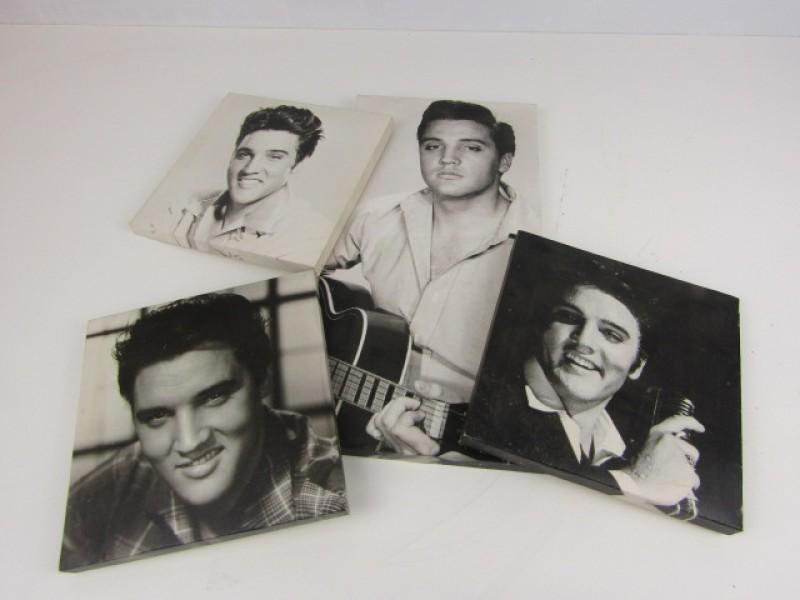 Foto's op Canvas, Elvis Presley, 4 stuks