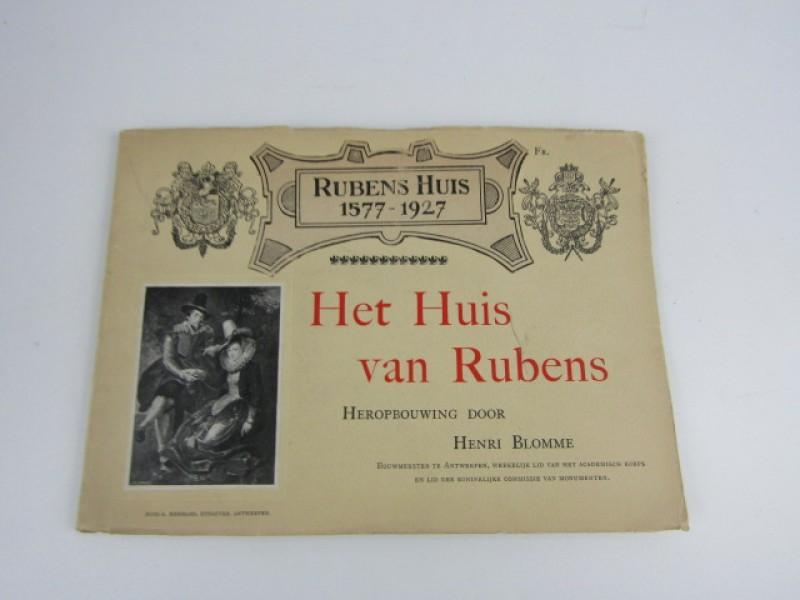 Antiek Boek, Rubens Huis 1577-1927