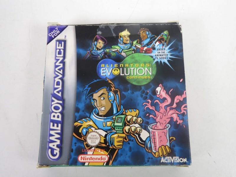 Game boy advance -Alienators - Evolution continues