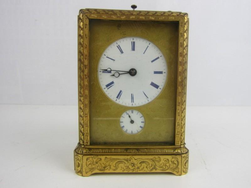 Zeldzaam Antiek Klokje, A. Demeur, Koninklijke Klokkenmaker