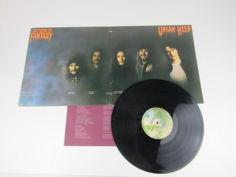 LP, Uriah Heep, Return To Fantasy, 1975