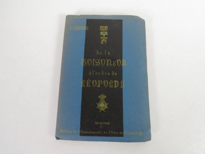 Boek - De la Toison d'or a l'ordre de Léopold II