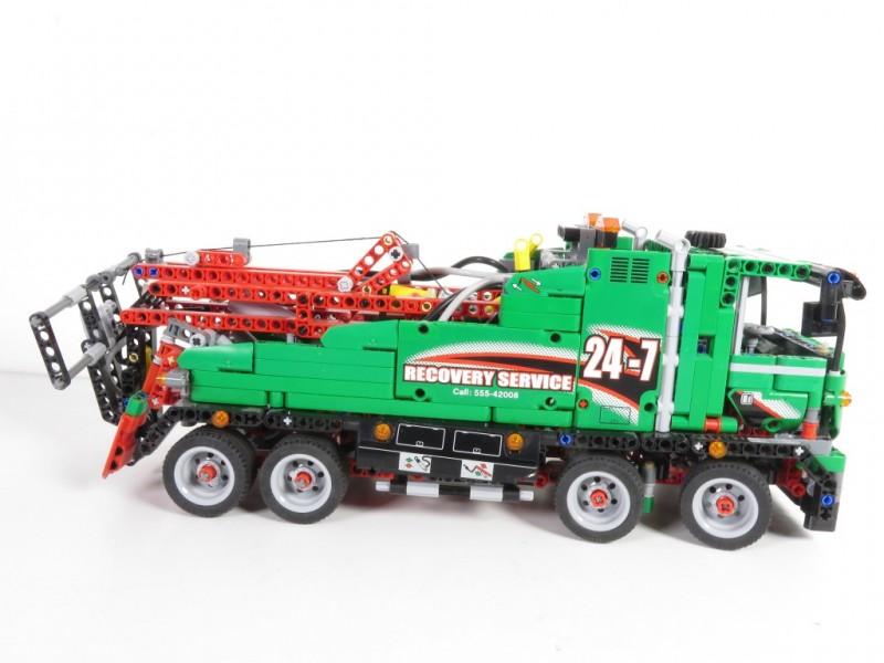 Lego technic sleepwagen 42008
