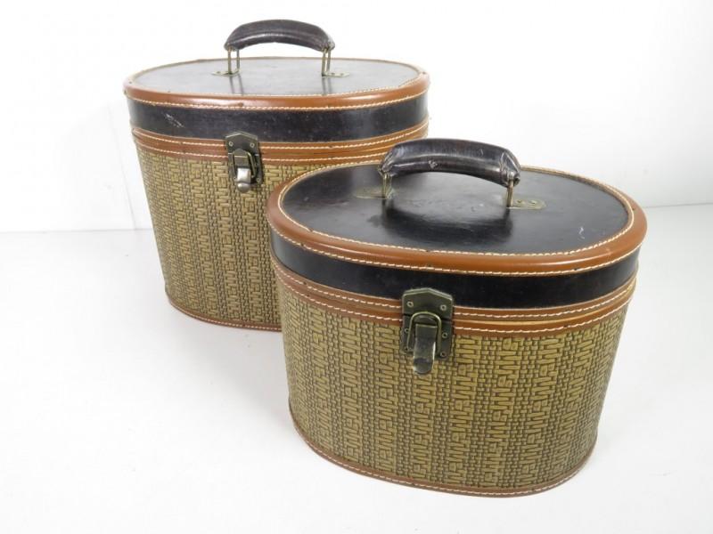Ovale suitcase set