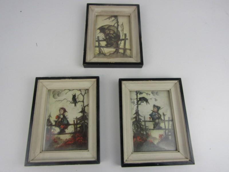 3 Retro Kadertjes, Kinder/Sprookjestaferelen
