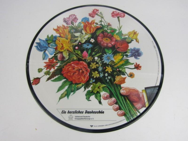 Unieke LP, Picture Disc, Ein Herzliches Dankeschön, Richard Clayderman, 1987