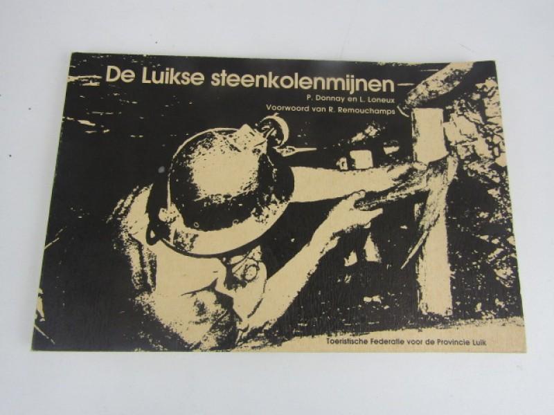 Boek, De  Luikse Steenkoolmijnen, P. Donnay