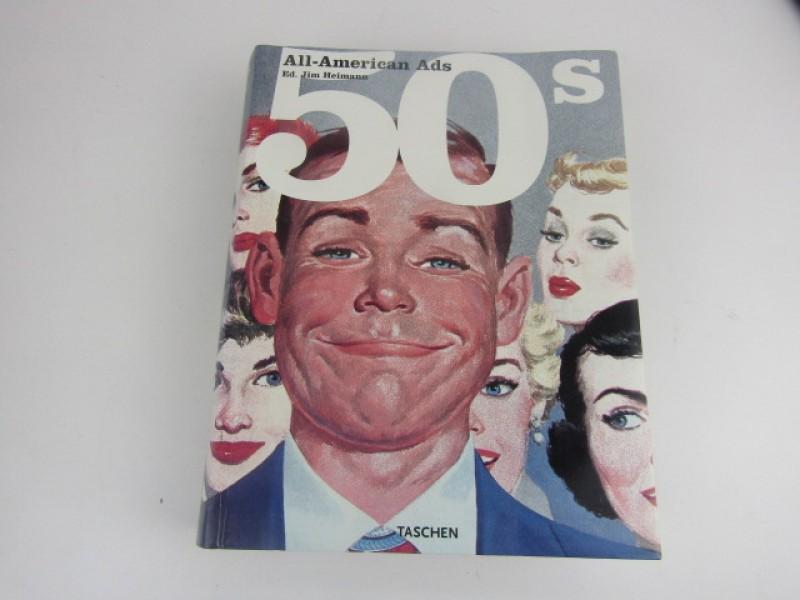 Kunstboek, All America Ads 50s, Taschen, 2015