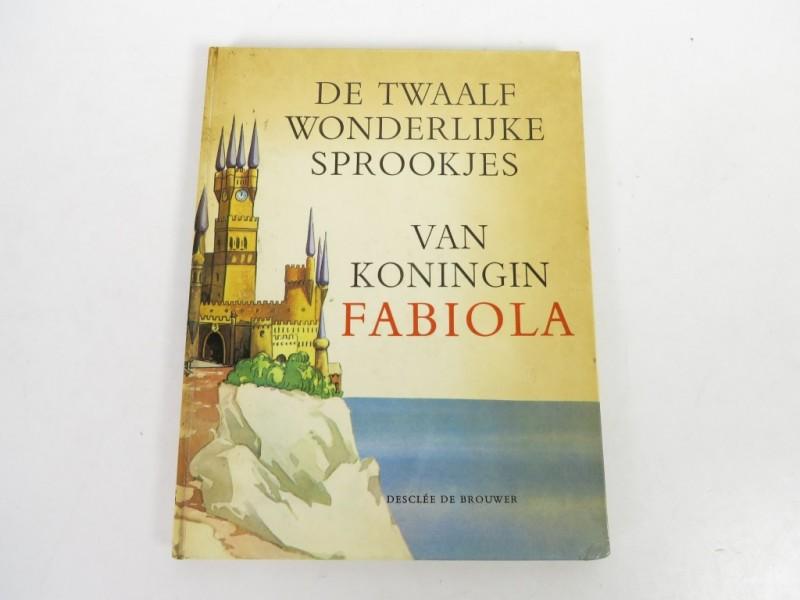 Boek - De twaalf wonderlijke sprookjes van koningin Fabiola