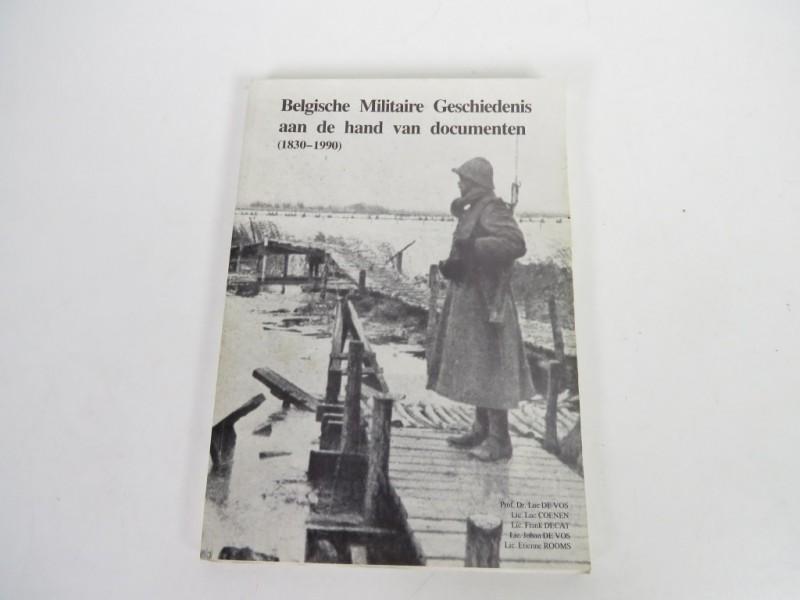 Boek - Belgische militaire geschiedenis aan de hand van documenten