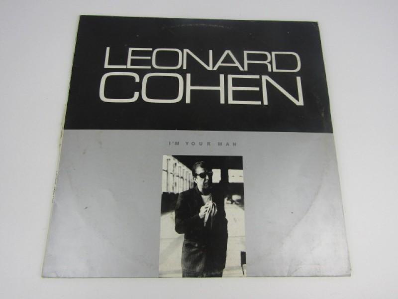 LP, Leonard Cohen, I'm Your Man, 1989, Polskie Nagrania Muza