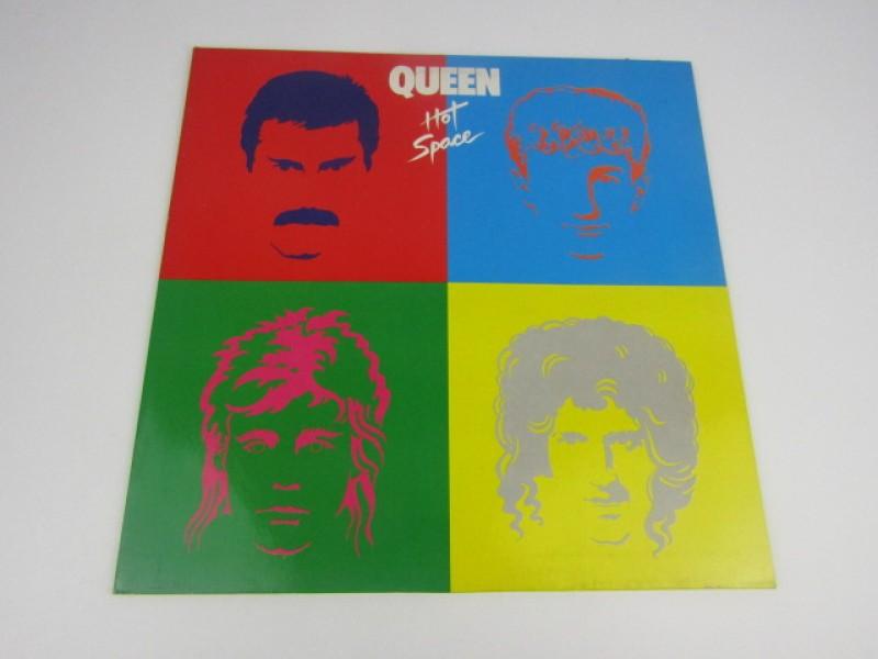 LP, Queen, Hot Space, 1982