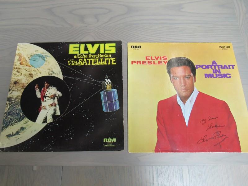 2 LP's Elvis Presley lot n°1