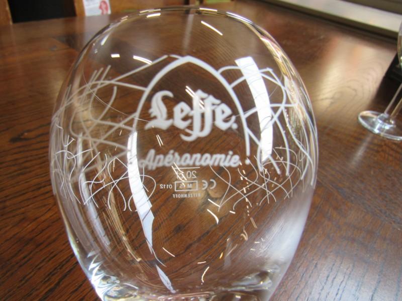 2 Leffe Apéronomie glazen