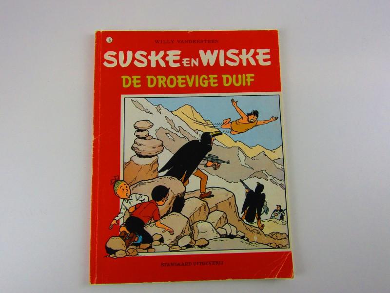 Strip, Suske En Wiske, De Droevige Duif, 1982