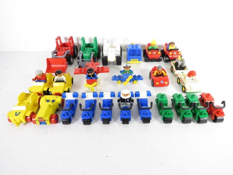 Lot lego duplo voertuigen