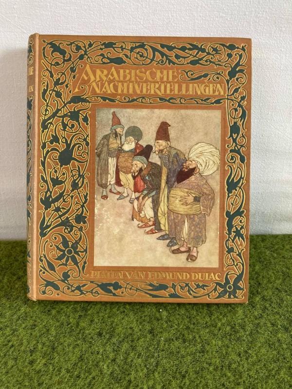 Oud boek Arabische Nachtvertellingen