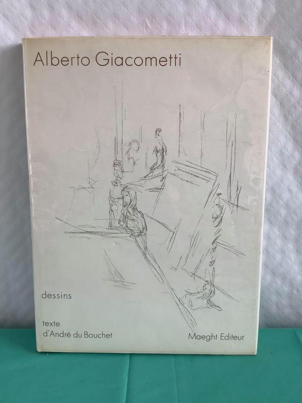 Kunstboek: Alberto Giacometti - Dessins