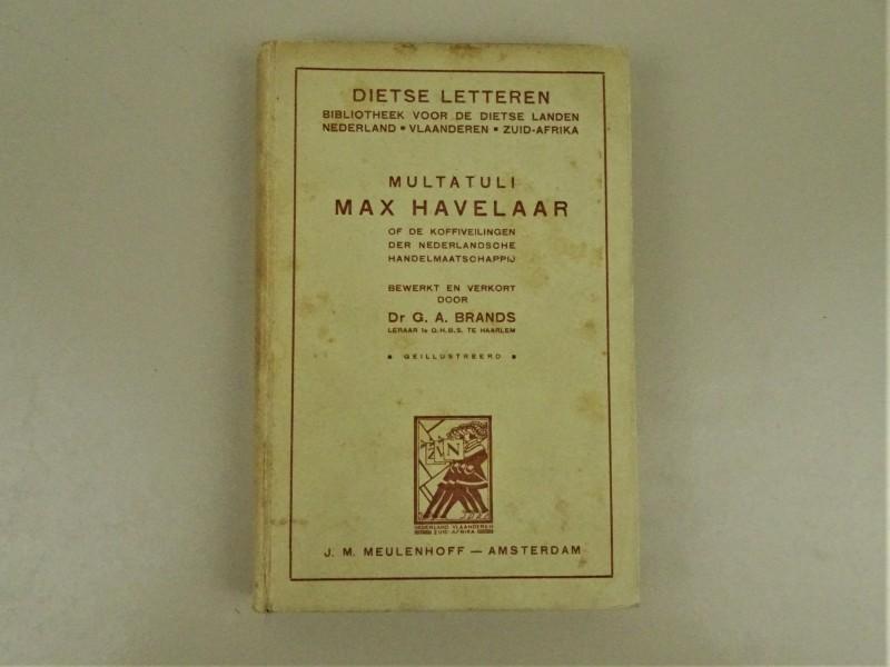 Boek Max Havelaar- Multatuli
