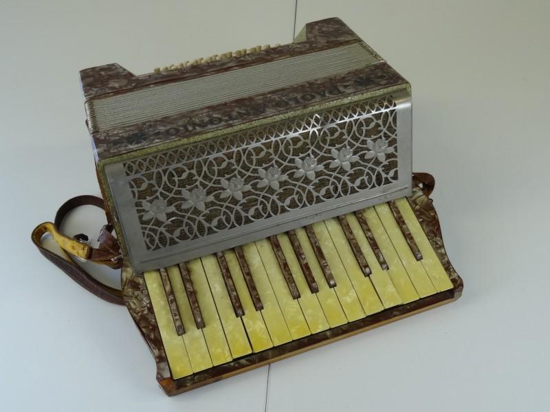 Vintage Paolo Antonio Piano Accordion - 24 Bass