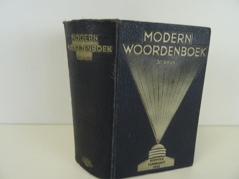 J. Verschueren: moderne woordenboek 1938 Brepols Turnhout