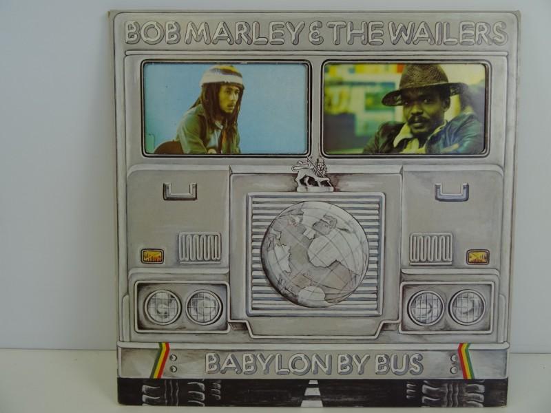 LP - Bob Marley & The Wailers - Babylon By Bus