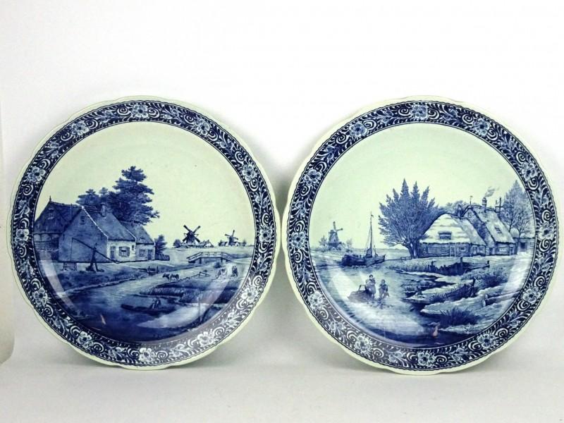 2 Delfts- sier borden (A. SONNEVILLE)