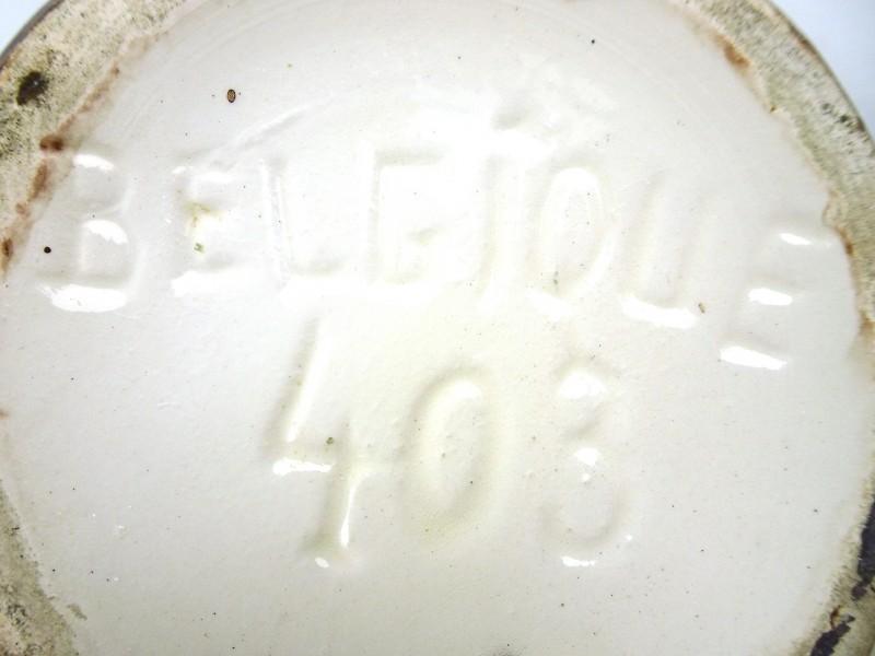 Aardewerk vaas (BELGIQUE 403)