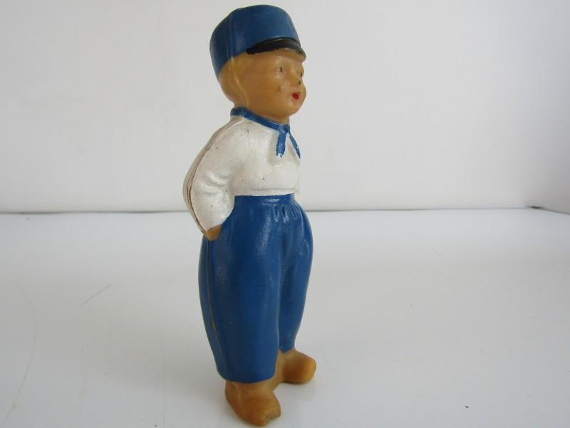 Vintage Rubberen Popje, Boer