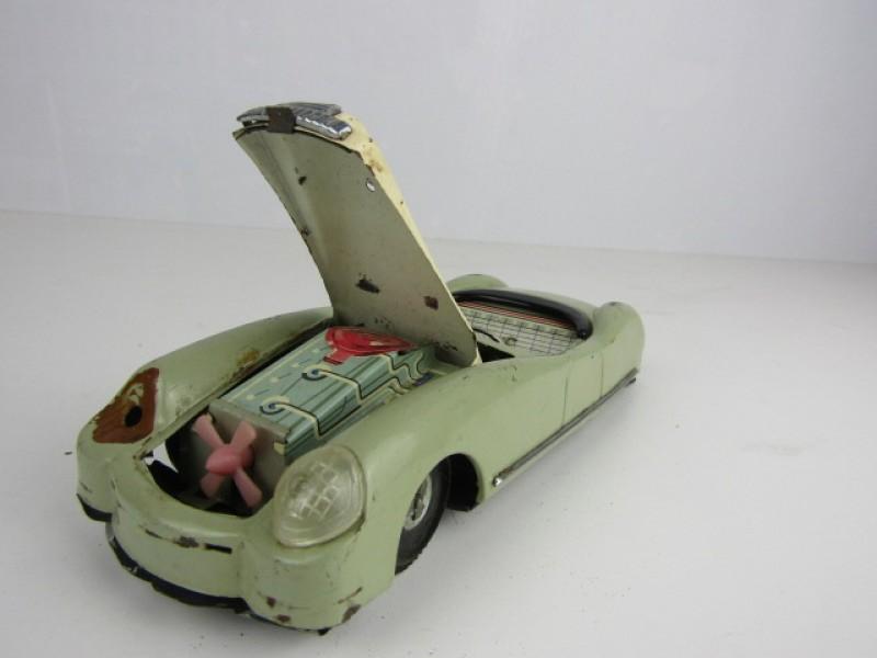 Blikken Speelgoed, Sportwagen Cabrio, made in China