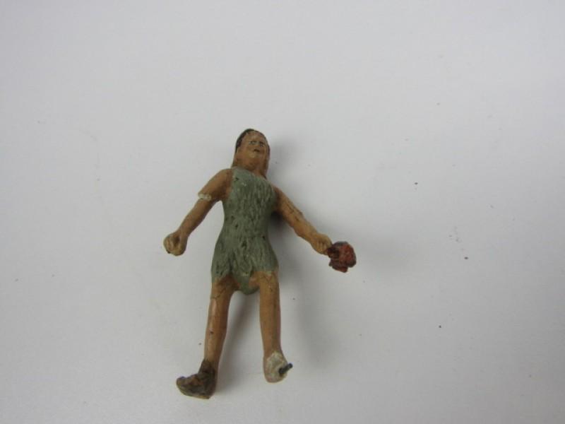 Antieke Speelgoedset: Jungle thema, Tarzan & Jane