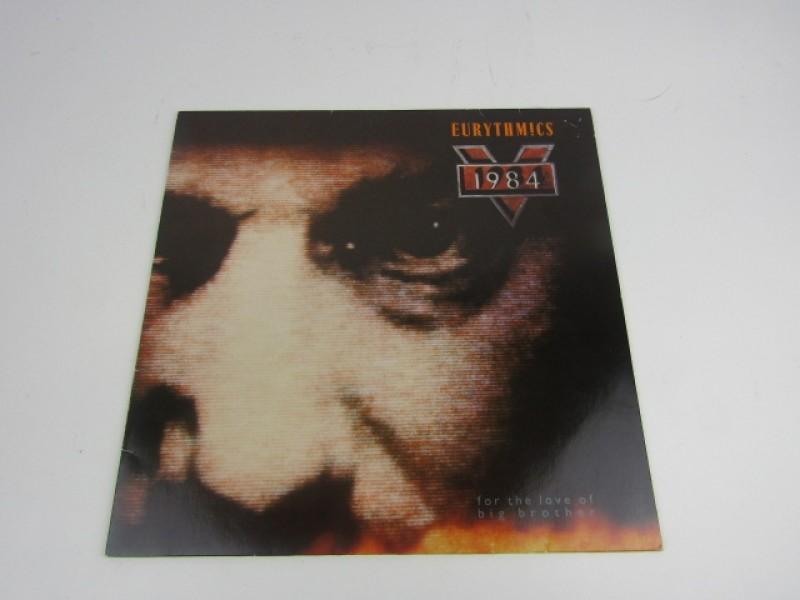 LP, Eurythmics, 1984, For the Love of Big Brother, filmmuziek, Virgin