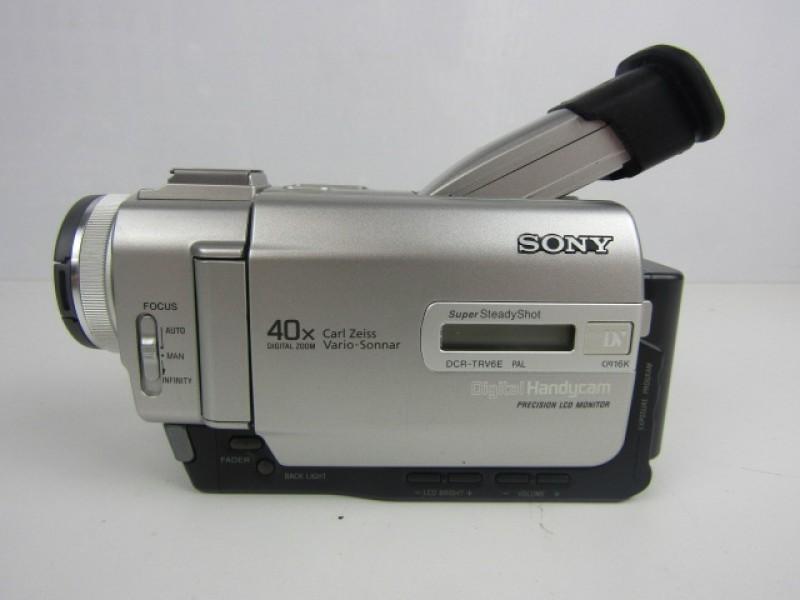 Sony, HandyCam, DCR-TRV6E CamCorder