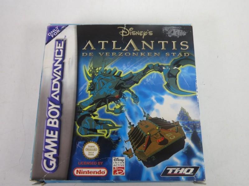 Game boy advance - Disney's Atlantis De verzonken stad