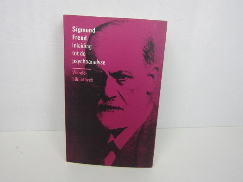 Boek, Sigmund Freud, Inleiding tot de Psychoanalyse, Wereldbibliotheek