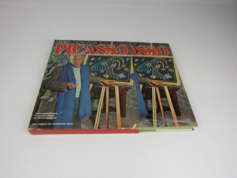 Kunstboek, Picasso, Amsterdam Boek, 1974