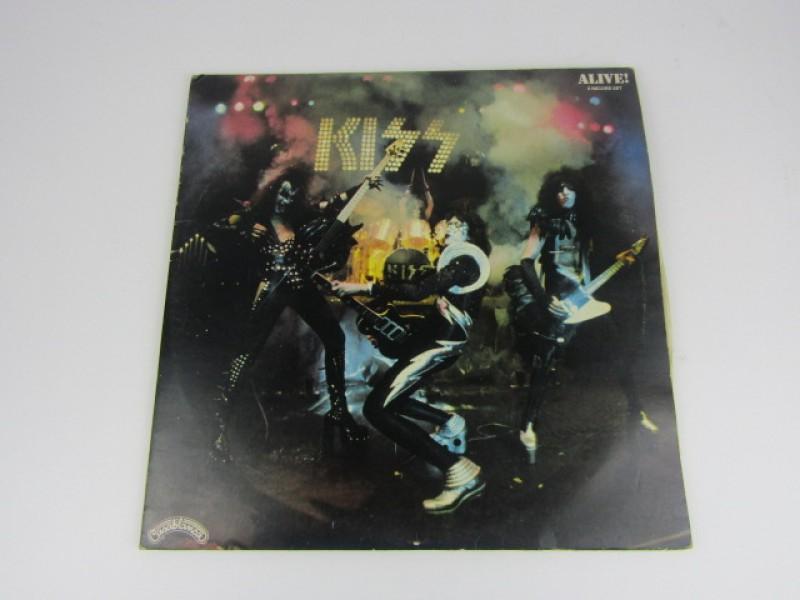 Dubbel LP, Kiss, Alive, 1973